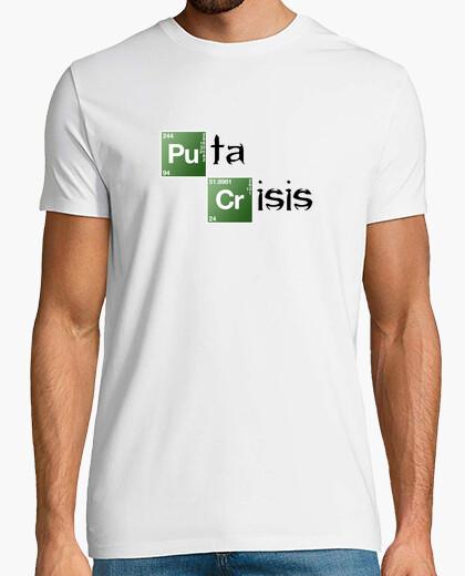 Camiseta Puta Crisis C. Clara