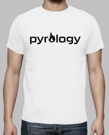 Pyrology Black Logo