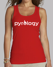 Pyrology White Tank Top