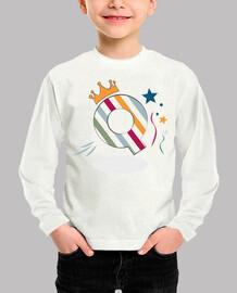 q - initial t-shirt