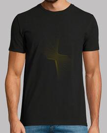 Quadratic, Tee shirt homme, noir, qualité supérieure