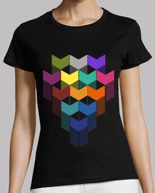 quadrato di colori geometrici