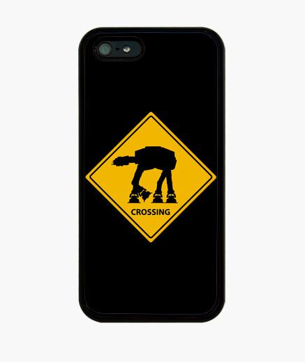 Coque iPhone Quadripode crossing