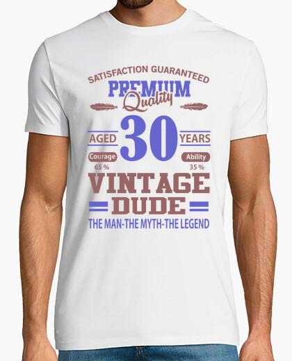 T-shirt qualità premium di 30 anni vintage tizi