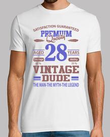 qualité premium âgé de 28 ans vintage m
