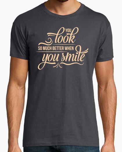 Tee-shirt quand un meilleur sourire