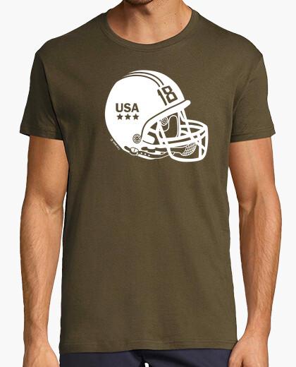 Camiseta Quaterback blanco deporte