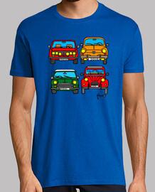 quatre voitures