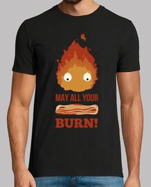 que all vous brûler du bacon!