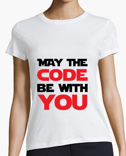 Camiseta que el código de estar contigo