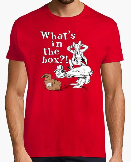 Camiseta ¡¿qué hay en la caja?!
