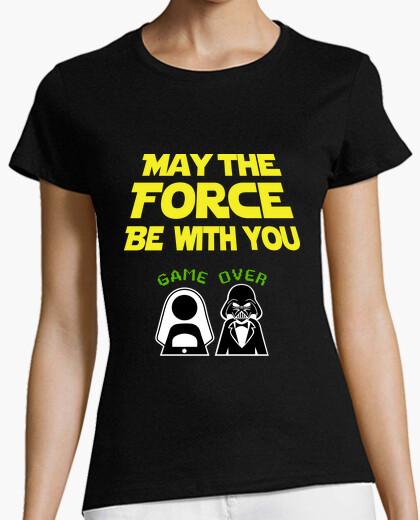Tee-shirt que la force soit avec toi, enterrement de vie de garçon (petite amie)