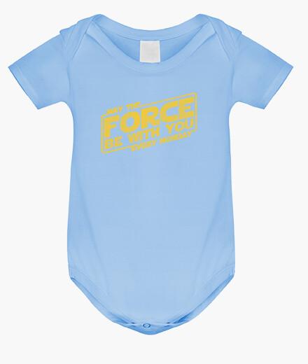 Vêtements enfant que la force soit avec vous tous les lundis