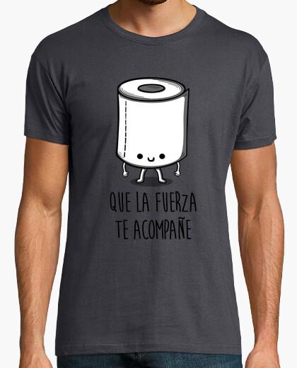 Tee-shirt que la force t'accompagne