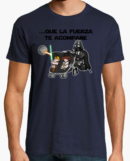Camiseta Que la fuerza te acompañe 2015