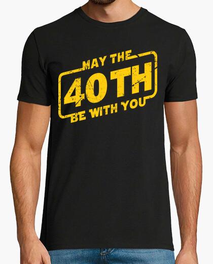 Tee-shirt que le 40e soit avec vous, 1980