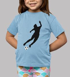 qué niños pateador camiseta