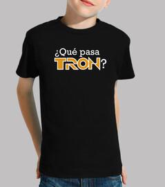 ¿Qué pasa TRON? - niñ@