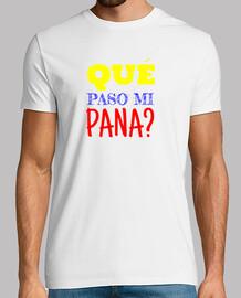 qué pasó mi pana? citation typique vénézuélienne criollo