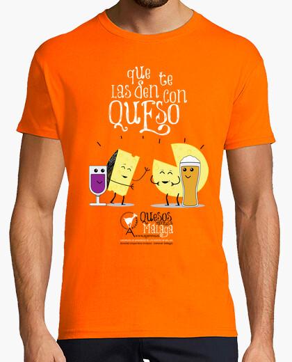Camiseta Que te las den con Queso