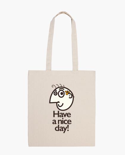 Bolsa que tengas un buen día