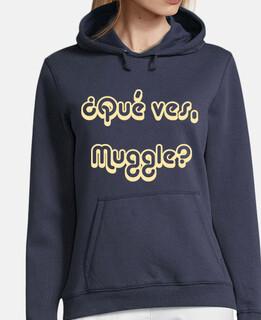 ¿Qué ves, Muggle?
