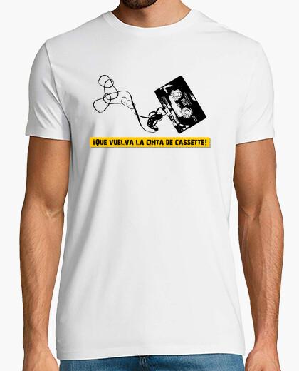Camiseta ¡Que vuelva la cinta de cassette!