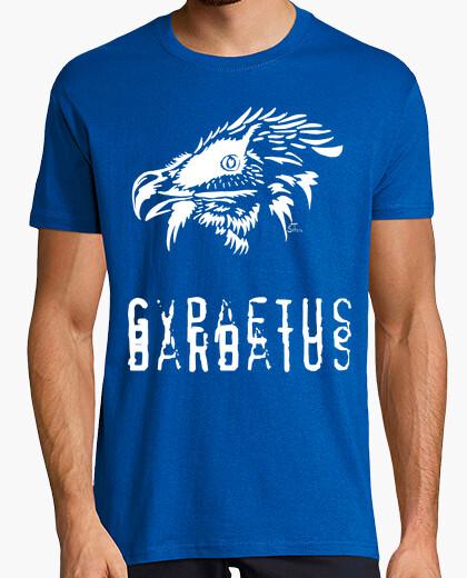 Camiseta Quebrantahuesos blanco - Gypaetus barbatus