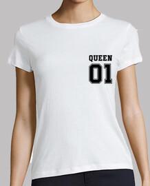 Queen 01 (Coeur et Dos)