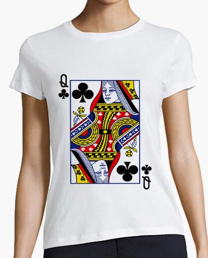 Camiseta Queen Of Clubs