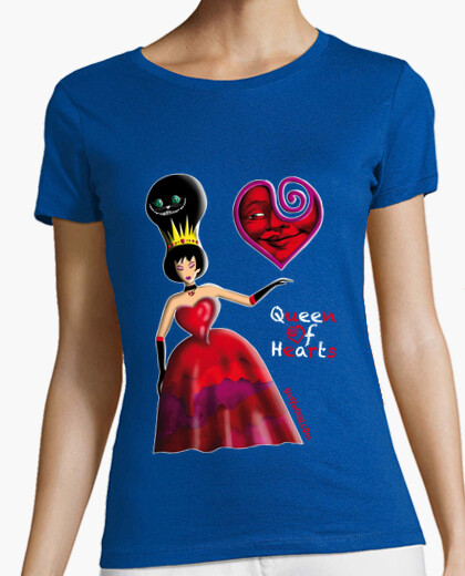 Queen of hearts one t-shirt