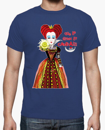 Queen of hearts three t-shirt