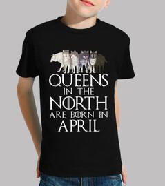 queens a north born nel mese di aprile