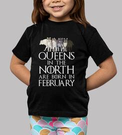 queens a north born nel mese di febbraio