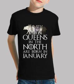queens a north born nel mese di gennaio