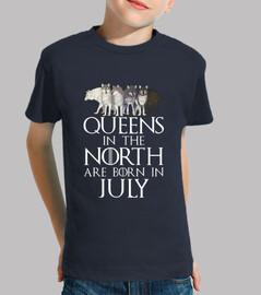 queens a north born nel mese di luglio