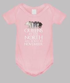 queens a north born nel mese di novembre