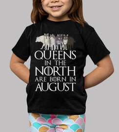 queens in north born in august