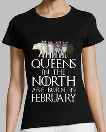 queens in north born in february