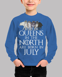 Queens in North born in July