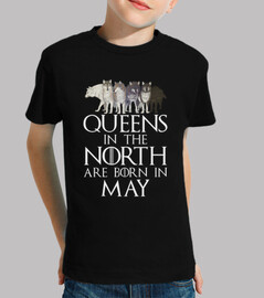 Queens in North born in May