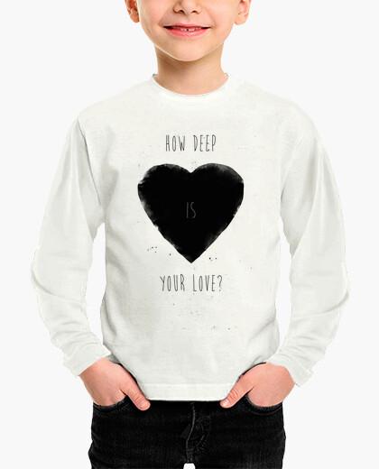 Vêtements enfant Quelle est la profondeur de ton amour?