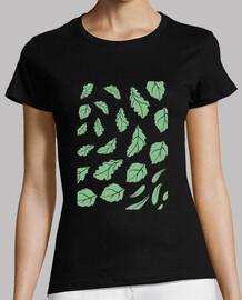 quercus robur - disegno foglia di quercia