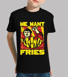 queremos papas fritas