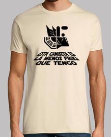 Questa è la t shirt meno geek che ho