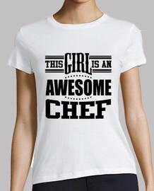 questa ragazza è uno chef impressionante