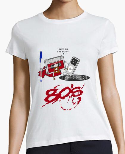 T-shirt Questi sono gli anni 80
