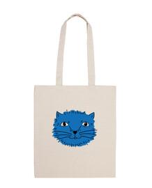 questo gatto è blu, ma niente di triste! - bandoliera