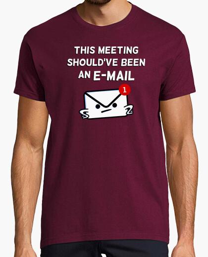 T-shirt questo incontro dovrebbe essere un'e-mail