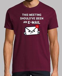 questo incontro dovrebbe essere un'e-mail